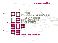 Pôle Sup 93